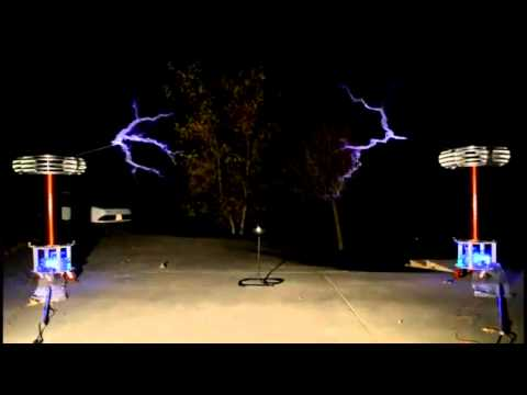 Tesla Coils Play