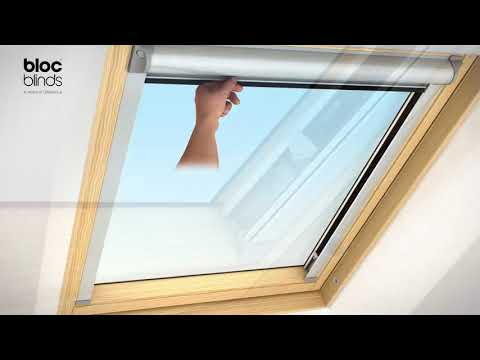 How to Install - Solar Skylight Blind (Velux Roof Windows, RoofLITE, Dakstra and DAKEA)