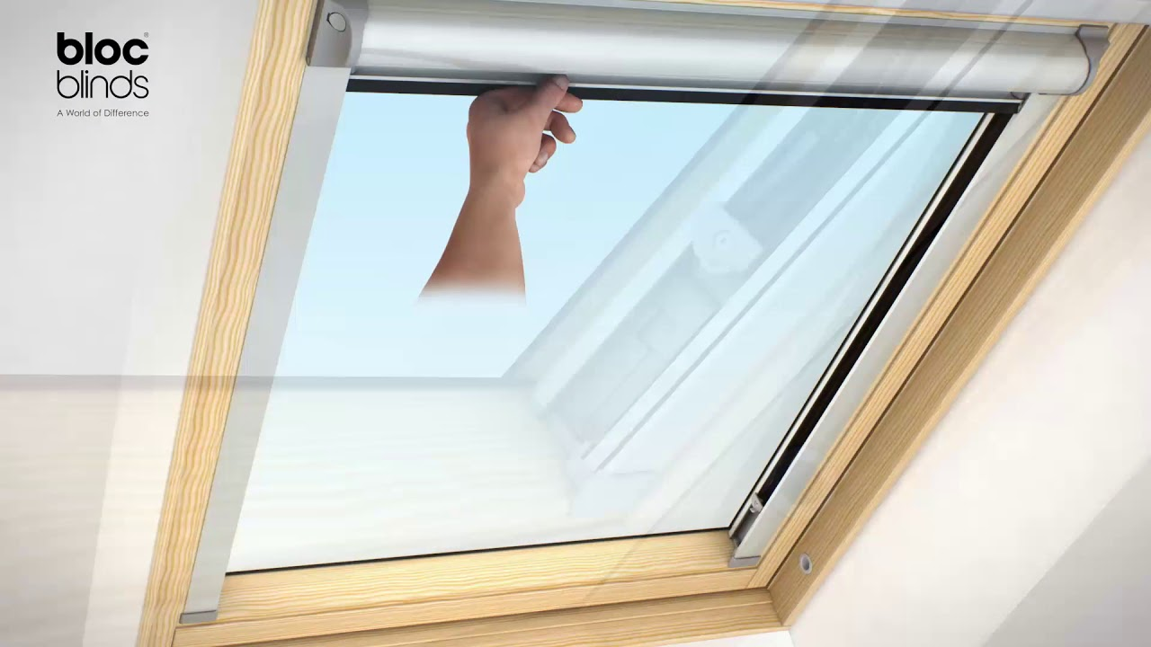 How to install Solar Skylight Blinds