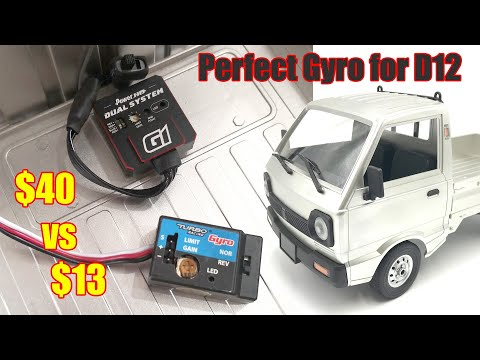 Cheap or Expensive Drift Gyro? Does it make a difference? Power HD G1 from Banggood