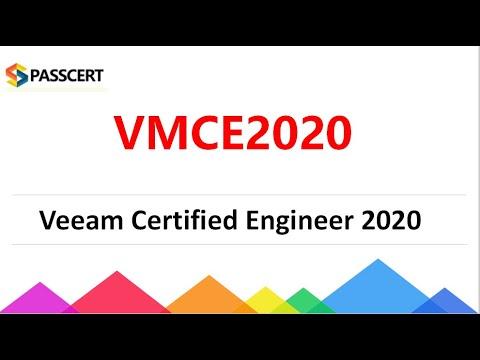 VMCE 2020 Veeam Certified Engineer 2020 Exam Dumps - YouTube