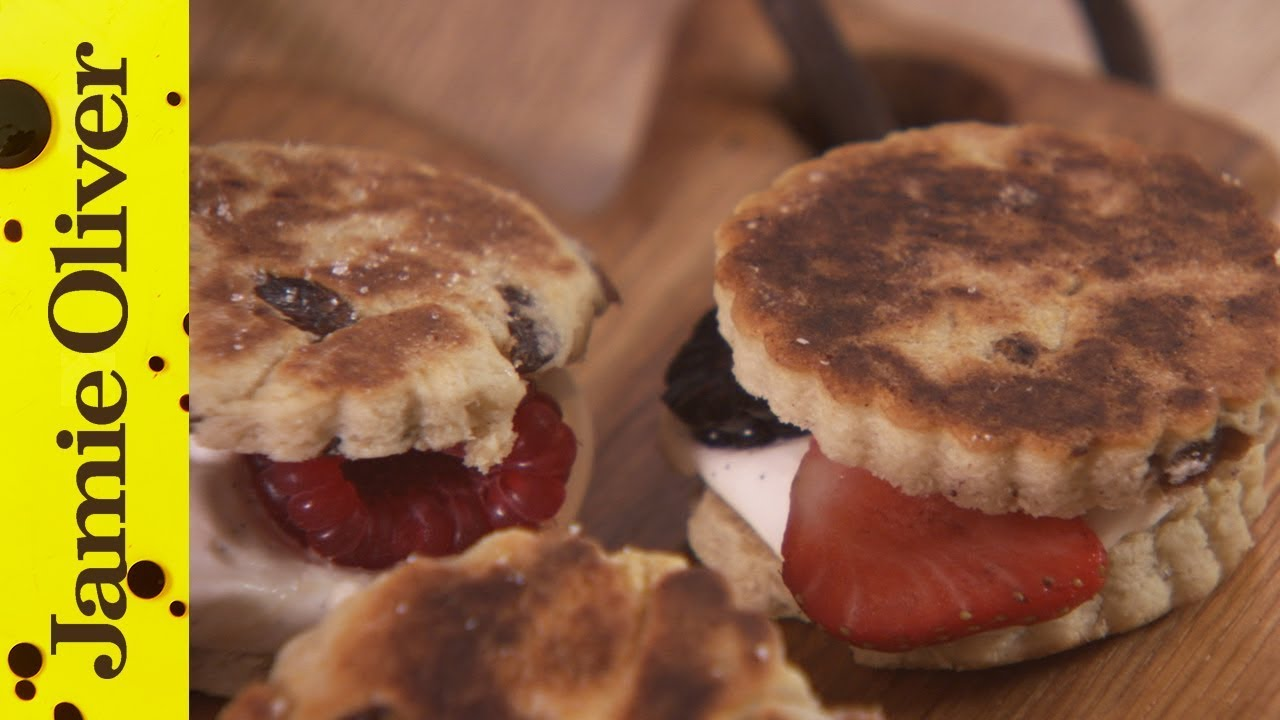 Jamie Oliver's Wonderful Welsh Cakes