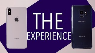 iPhone X vs Galaxy S9: The Experience After 3 Months