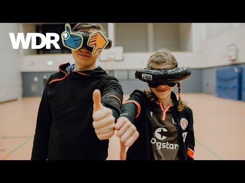 Kann es Johannes? - Blindenfußball | WDR