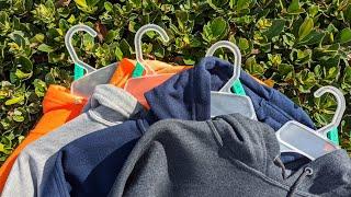 Mens Fruit of the Loom Eversoft Fleece Pullover Hoodie Sweatshirt First Look!