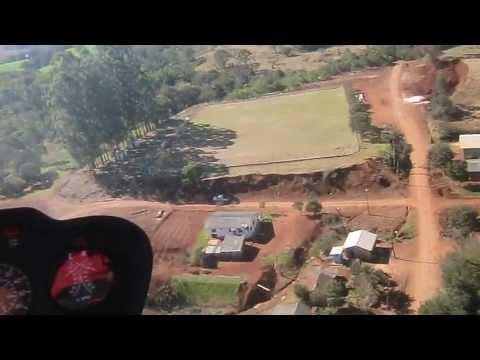 Vista aérea de Diamante do Sul