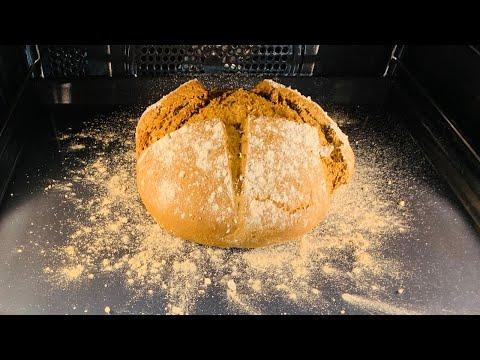 Recept na špaldový chléb v pečící troubě Miele H 7860 BP