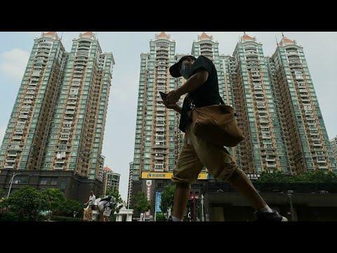 Chine : Evergrande tente d'éviter une faillite imminente • FRANCE 24