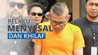 Awalnya Berani Ajak Duel Polisi, Pria Ini Tertunduk Minta Maaf saat Digiring Pakai Baju Orange
