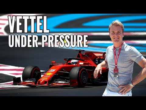 HOW VETTEL RESPONDS TO PRESSURE AT FRENCH F1 QUALIFYING | RACEVLOG