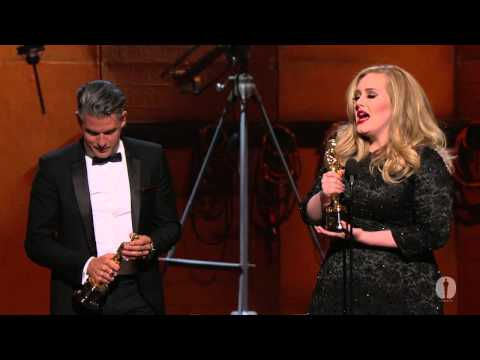 """Skyfall"" Wins Original Song: 2013 Oscars"