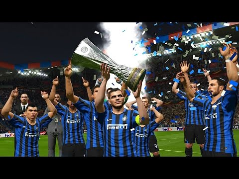 PES 2016 - UEFA Europa League Final - AC Milan vs Inter Milan