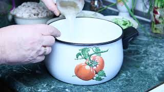 Окрошка на кефире -Старый Советский Рецепт