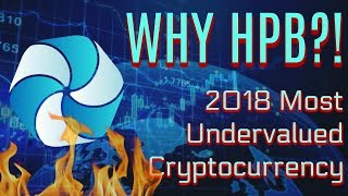 WHY HPB IS THE MOST UNDERVALUED COIN OF 2018
