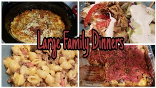 Large Family Dinners Of The Week