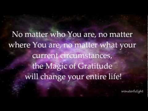 RHONDA BYRNE – THE MAGIC.