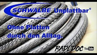 Ohne Platten durch den Alltag / Schwalbe Unplattbar
