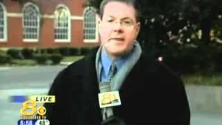 News Reporter having a meltdown on live TV