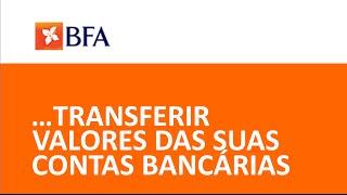 BFA Net - Realização de Transferências Bancárias