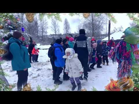 Открытие резиденции Деда Мороза в Дрибинском районе 25-27 декабря 2020 года.