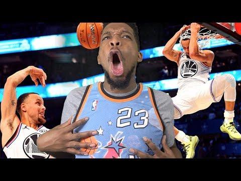 CURRY SHOULD OF WON MVP! TEAM LEBRON vs TEAM GIANNIS! 2019 NBA ALL-STAR GAME (видео)