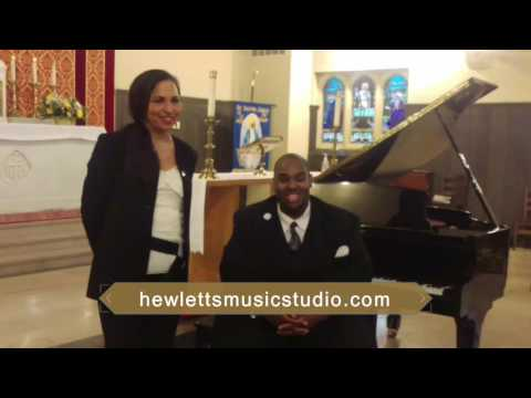 This video was taken after my student Marsha was presented in recital on May 28, 2017.