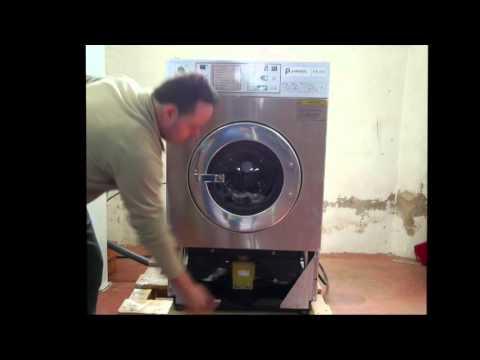 Funcionamiento de lavadora industrial Polimatic FS-11