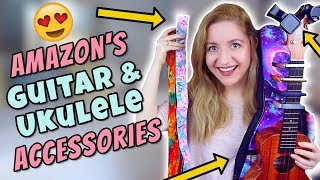 Amazon's Ukulele & Guitar Accessories! (Capos, Tuners, Straps, Cases, Stands)