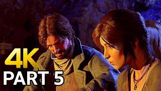 Rise of the Tomb Raider 4K Gameplay Walkthrough Part 5