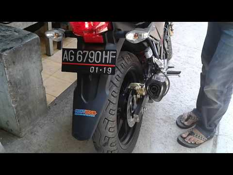 Honda CB150R Streetfire Knalpot Akrapovic Carbon Titanium by GP-RR Indonesia