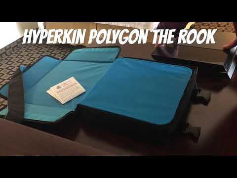 """Travel and airplane friendly PlayStation 4 case. Hyperkin Poly """"The Rook"""""""