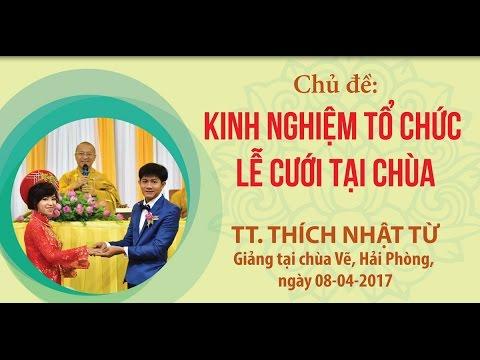 Kinh nghiệm tổ chức lễ cưới tại chùa