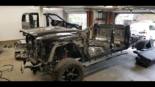 Rebuilding 2013 Ford F350 from Copart prt 13