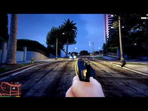 Nintendo-Черный пистолет.GTA V