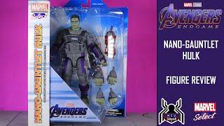 Marvel Select NANO GAUNTLET HULK Avengers Endgame Figure Review