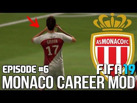 ГОЛОВИН ГЛАВНАЯ ЗВЕЗДА МОНАКО? ДЕБЮТ МИТРЮШКИНА?   FIFA 19   Карьера тренера за Монако [#6]