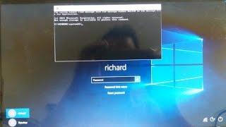Reset password windows 10 via command prompt CMD