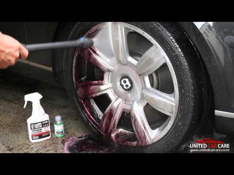 Scrub-free Wheel Cleaning - Bentley Continental GT