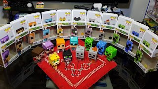 Unboxing Minecraft Funko Pop Vinyl Figures - CHASE - EXCLUSIVE - GLOW IN THE DARK