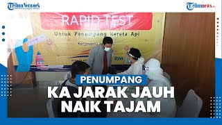 Jelang Libur Imlek, Sebanyak 10.500 Penumpang Tinggalkan Jakarta dari Stasiun Pasar Senen dan Gambir