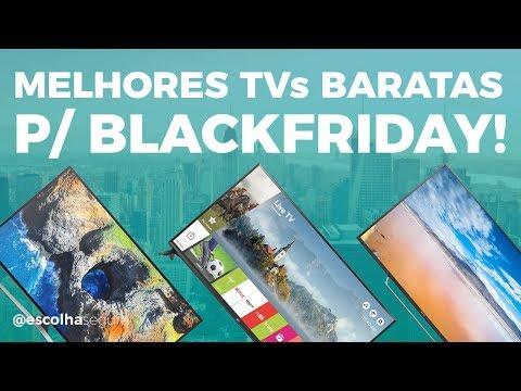 Melhor TV BOA E BARATA até 3000 REAIS para ficar de olho na BLACK FRIDAY!