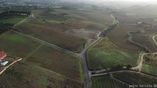 PORTUGAL fly like a bird through towns and fields 4K Drone