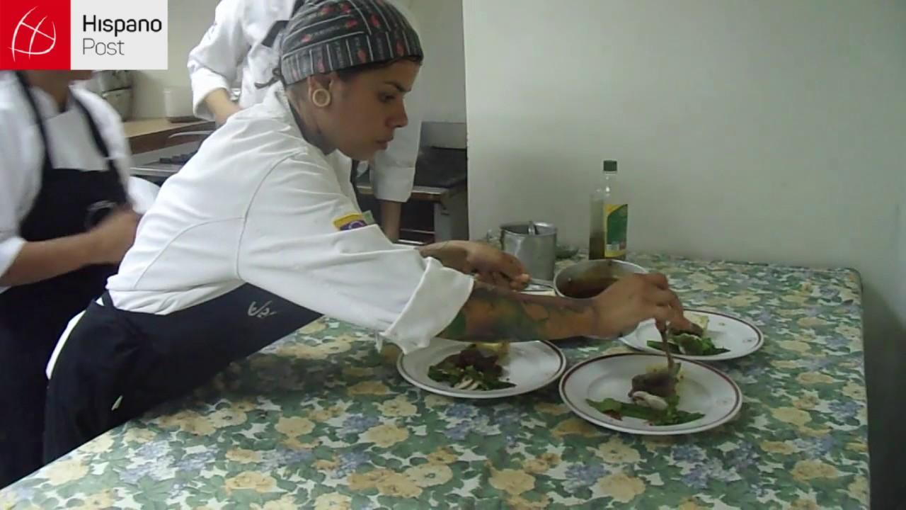 Estudiantes de cocina apuestan a la gastronomía venezolana