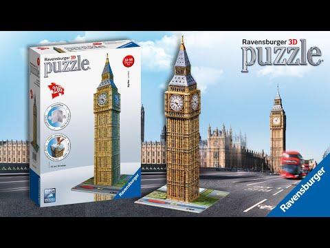 Ravensburger 3D Puzzle® | Build Big Ben!