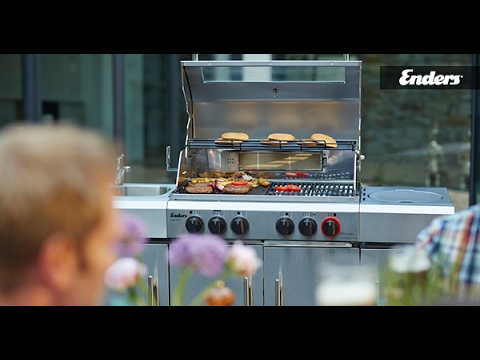 Enders Gasgrill Kansas Pro 4 : ᐅᐅ】enders gasgrill kansas 4 sik profi turbo tests produkt