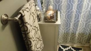OFFICIAL  BATHROOM TOUR | UPDATED LIVING ROOM TOUR