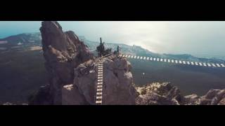 Природа Крыма  Аэросъемка Крым видео Crimea Video