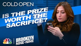Cold Open: The First Person to Get Gina to Look Up Wins - Brooklyn Nine-Nine