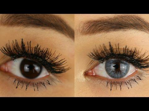 Die  BESTEN BLAUEN Kontaktlinsen! -Adorable Caro