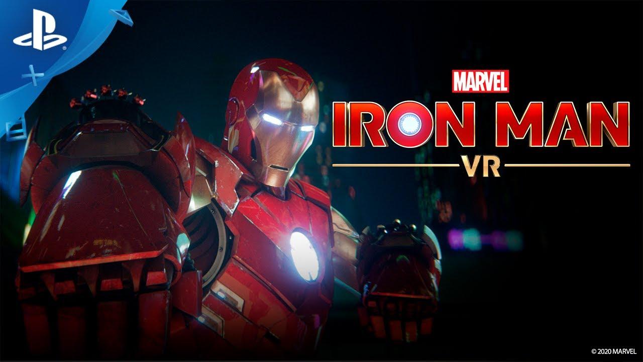 Llega el espectacular tráiler cinemático de lanzamiento de Marvel's Iron Man VR